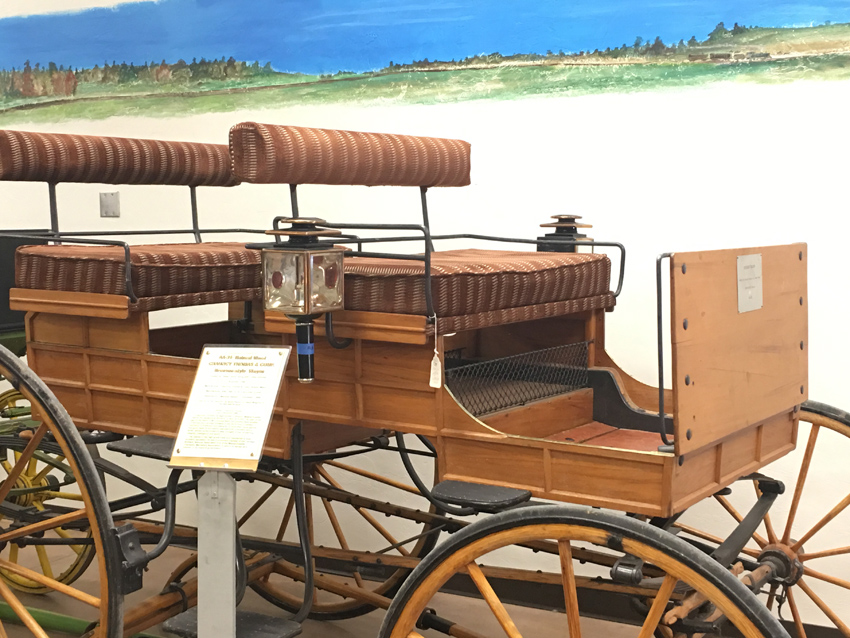 Upper society sought finely crafted carriages as a sign of their wealth, this Brewster model was the predicessor to top end cars of today.